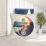 Radiate Love  Pillowcase