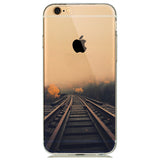 Railway Transparent Soft Skin Case - Eleven Gift