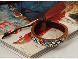 Retro Paint Leather Bracelet - Eleven Gift