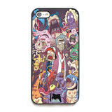 Rick and Morty Pokemon Phone Case - iPhone & Galaxy - Eleven Gift