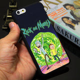 Rick and Morty iPhone Case - Black Edition - Eleven Gift