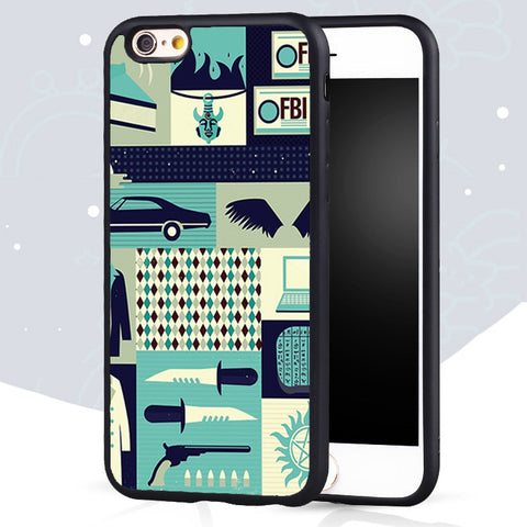 Supernatural iPhone Protective Case