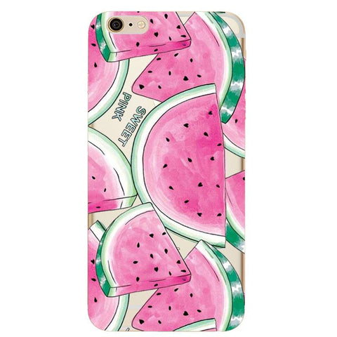 Sweet Pink Watermelon Clear Case - iPhone & Galaxy - Eleven Gift