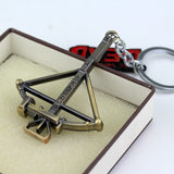 The Walking Dead Crossbow Keychain - Eleven Gift