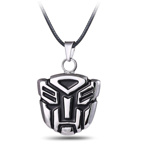 Transformer Autobot Necklace