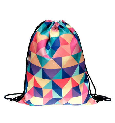 Triangle Abstract Backpack