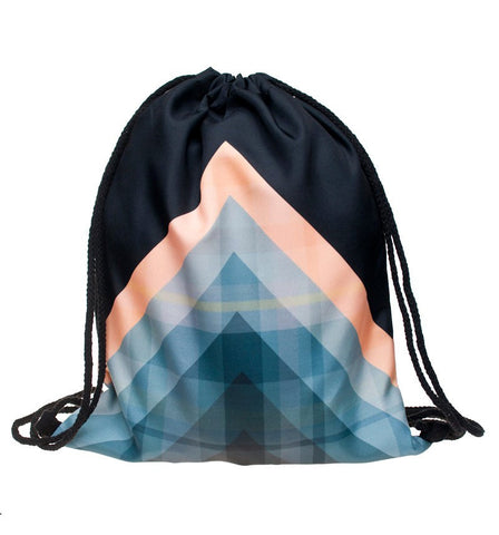 Triangle Wave Backpack - Eleven Gift