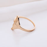 Unique Whale Tail Ring - Eleven Gift