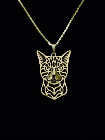 Bengal Cat Necklace - Eleven Gift