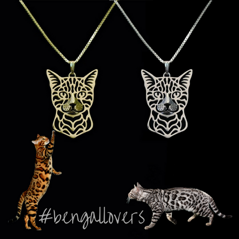Bengal Cat Necklace