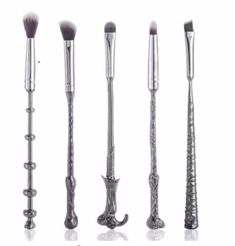 Harry Potter Makeup Brush Set - Eleven Gift