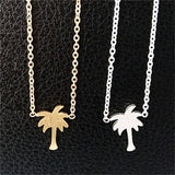 Coconut Tree Charm Necklace - Eleven Gift