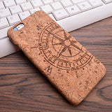Compass iPhone Wood Case