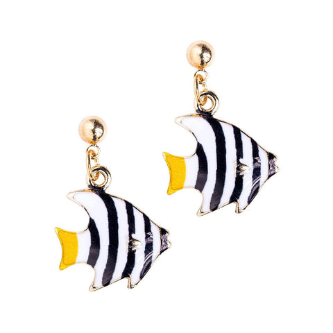 Coral Fish Earrings
