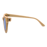 Daytona - Dark Bamboo Sunglasses with Shadow Gray Polarized Lens - Eleven Gift