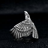 Silver Eagle Ring - Eleven Gift