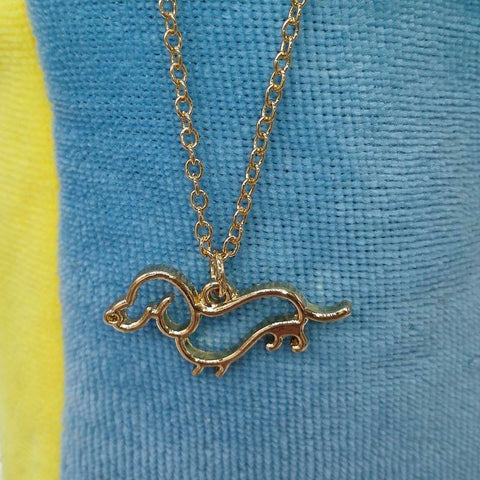 Dachshund Necklace - 3 Colors