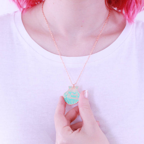 I'm Really a Mermaid Necklace - Eleven Gift