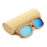 Jupiter - Bamboo & Wood Sunglasses with Brown Tea Polarized Lens - Eleven Gift