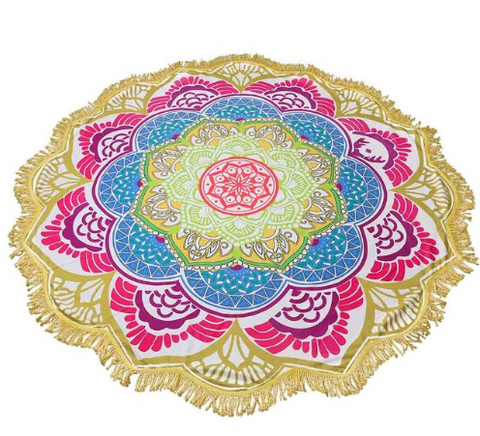 Limited Edition Lotus Mandala Tapestry - Design 2