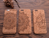Mandala iPhone Wood Case