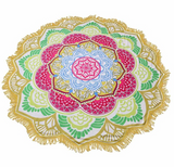 Limited Edition Lotus Mandala Tapestry - Design 3 - Eleven Gift