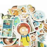 Rick and Morty Waterproof Sticker - Eleven Gift