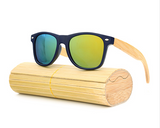 Pacific - Bamboo & PC Sunglasses with Oceon Blue Polarized Lens