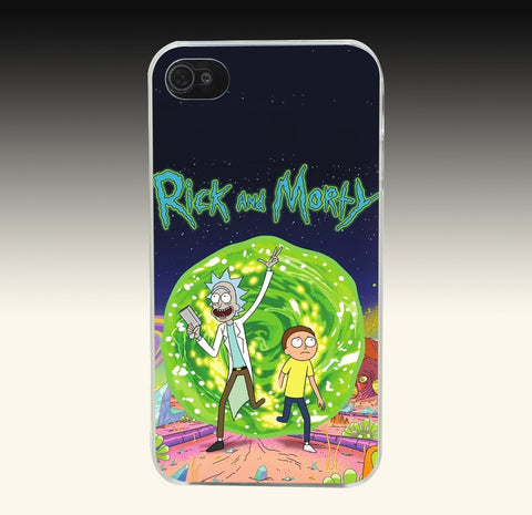 Rick and Morty Phone Case - Eleven Gift