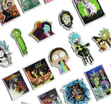 Rick and Morty Waterproof Sticker - 2018 Design - Eleven Gift