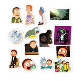 2017 Design Rick and Morty Waterproof Sticker - 49 Pieces! - Eleven Gift
