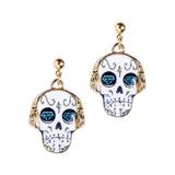 Diamond Skull Earrings - Eleven Gift