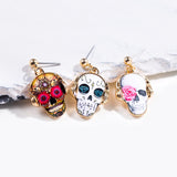 Sugar Skull Earrings - Eleven Gift