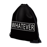 Whatever Drawstring Bag - Eleven Gift