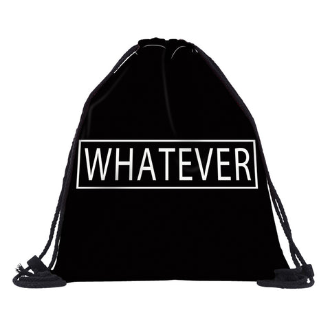 Whatever Drawstring Bag