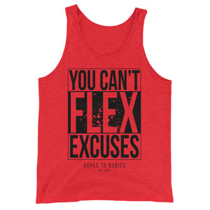 Open image in slideshow, Can't Flex Excuses Unisex Tank