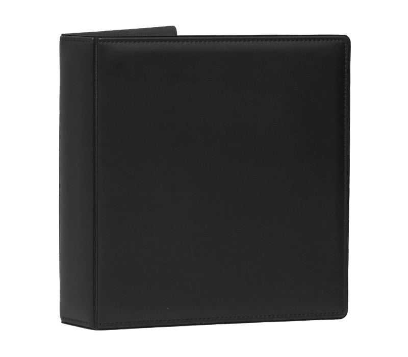 Top-Stitched Leather Like Binder - Forbes Products
