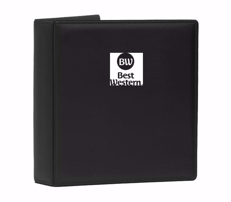 Top-Stitched Leather Like Binder (pack) - Forbes Products
