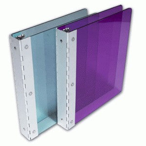 Custom Aluminum Hinged Clear Binder - Forbes Custom Products