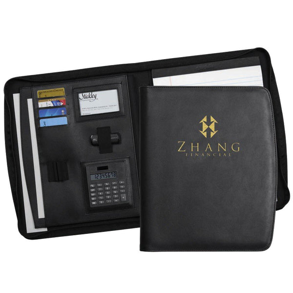 Chelsea Zippered Padfolio - Forbes Products