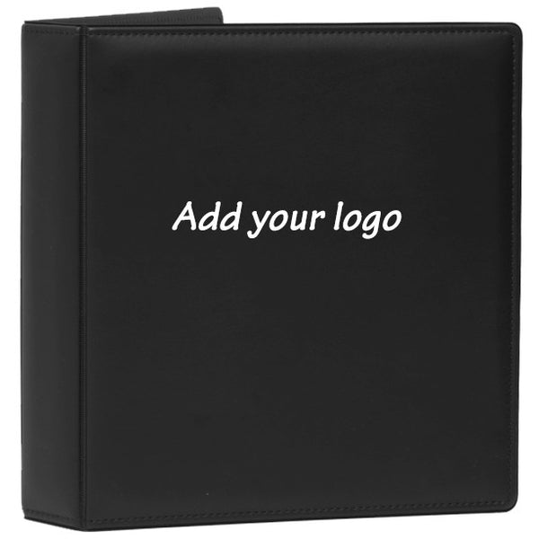 Top Stitched Leather Like Binder - Forbes Products