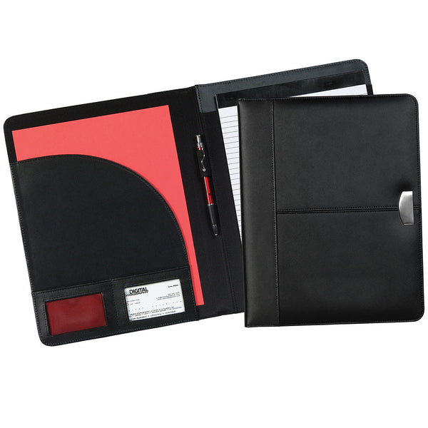 Cosmopolitan Leather Pad Folder - Forbes Products