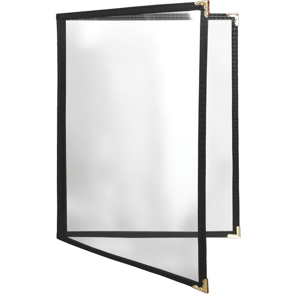 Leatherette Double Panel Menu Cover - Forbes Products