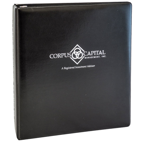 Custom Heat Sealed Leather Like Binder - Forbes Custom Products