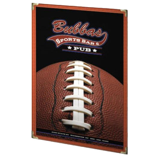 Leatherette Single Panel Menu Cover - Forbes Custom Products