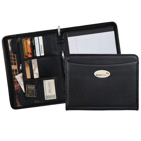 Montana Zippered Padfolio - Forbes Custom Products
