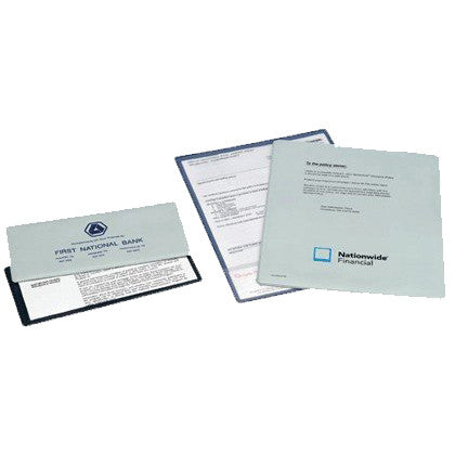 Single Pocket Insurance Policy Wallets - Forbes Products