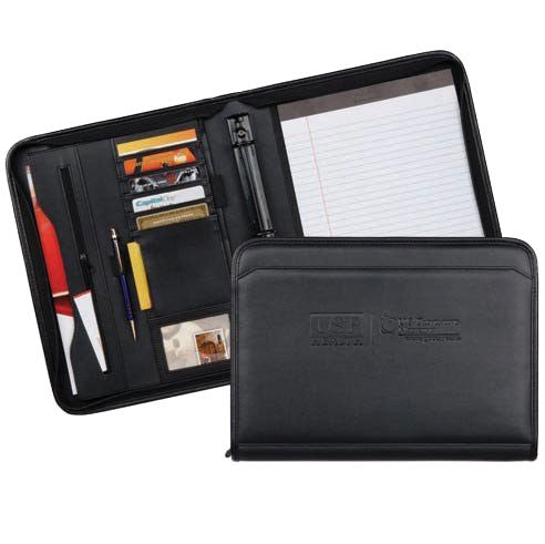 Sonoma Zippered Ringfolio - Forbes Products