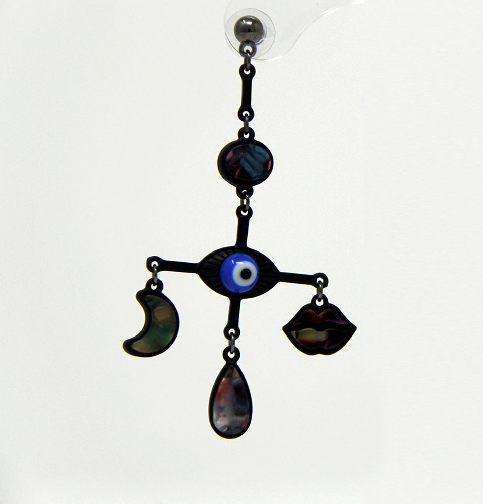 Punk & Goth Evil Eye Earrings