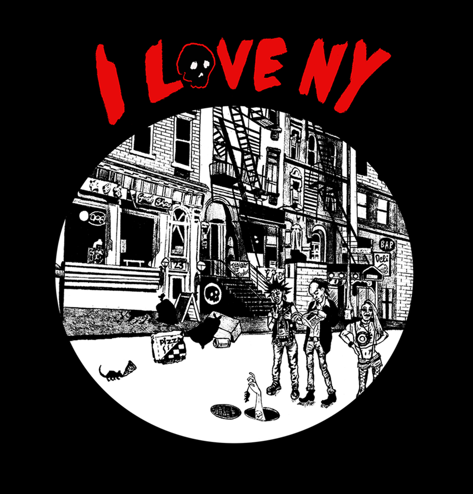 I Love New York - Black Tee